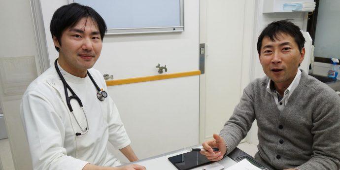 後藤先生と岡田