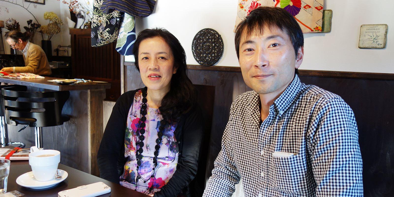 石井先生と岡田