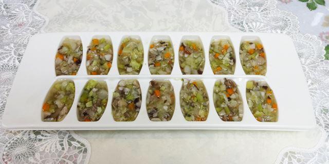 レシピ小分け冷凍