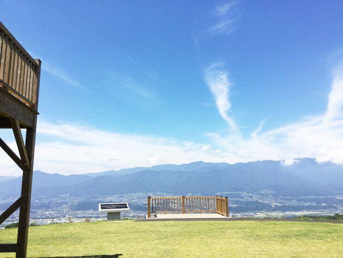 てっぺん公園の展望台