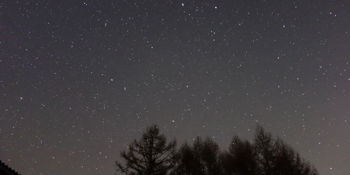 大平宿の星空