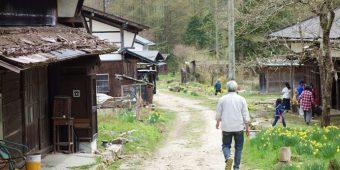 大平宿の散歩道