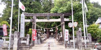 飯田市の鳩ヶ嶺八幡宮